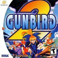 Portada oficial de Gunbird 2 para Dreamcast