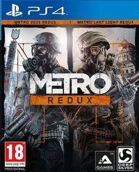 Portada oficial de Metro Redux para PS4