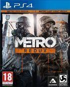 Portada oficial de de Metro Redux para PS4