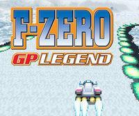Portada oficial de F-Zero: GP Legend CV para Wii U