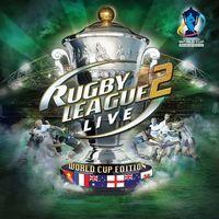 Portada oficial de Rugby League Live 2 - World Cup Edition PSN para PS3