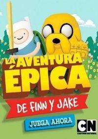 Portada oficial de Finn and Jake's Epic Quest para PC