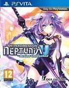 Portada oficial de de Hyperdimension Neptunia U: Action Unleashed para PSVITA