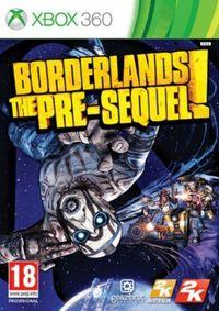 Portada oficial de Borderlands: The Pre-Sequel para Xbox 360