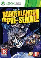 Portada oficial de de Borderlands: The Pre-Sequel para Xbox 360