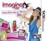 Portada oficial de Imagina ser Diseñadora de Moda 3D para Nintendo 3DS