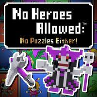 Portada oficial de No Heroes Allowed: No Puzzles Either! PSN para PSVITA