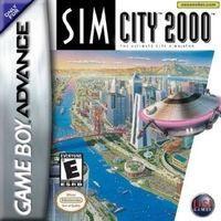 Portada oficial de Sim City para Game Boy Advance