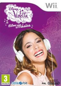 Portada oficial de Violetta para Wii