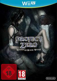 Portada oficial de Project Zero: Maiden of Black Water para Wii U