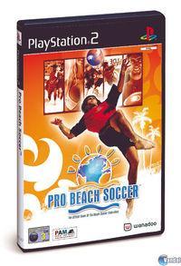 Portada oficial de Pro Beach Soccer para PS2