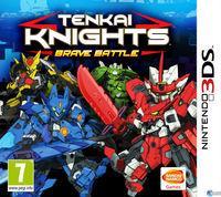 Portada oficial de Tenkai Knights: Brave Battle para Nintendo 3DS