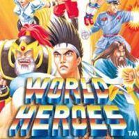 Portada oficial de WORLD HEROES PSN para PSP