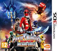 Portada oficial de Power Rangers Super Megaforce para Nintendo 3DS