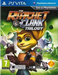 Portada oficial de The Ratchet & Clank Trilogy  para PSVITA