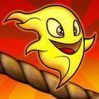 Portada oficial de de Burn the Rope PSN para PSVITA