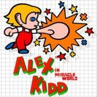 Portada oficial de Alex Kidd in Miracle World PSN para PS3