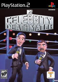 Portada oficial de Celebrity Deathmatch para PS2