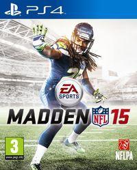 Portada oficial de Madden NFL 15 para PS4