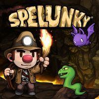 Portada oficial de Spelunky para PS4