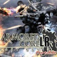Portada oficial de ARMORED CORE Last Raven Portable para PSP