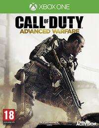 Portada oficial de Call of Duty: Advanced Warfare para Xbox One