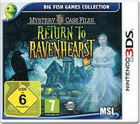 Portada oficial de Mystery Case Files Ravenhearst para Nintendo 3DS