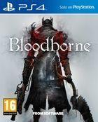 Portada oficial de de Bloodborne para PS4