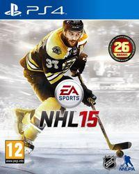Portada oficial de NHL 15 para PS4