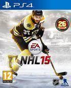 Portada oficial de de NHL 15 para PS4