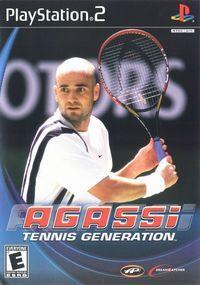 Portada oficial de Agassi Tennis Generation para PS2