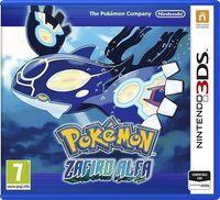 Portada oficial de Pokémon Rubí Omega & Zafiro Alfa para Nintendo 3DS