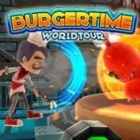 Portada oficial de BurgerTime World Tour PSN para PS3