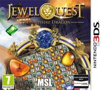 Portada oficial de Jewel Quest The Sapphire Dragon eShop para Nintendo 3DS