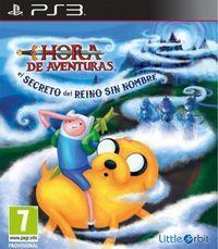 Portada oficial de Hora de Aventuras: El secreto del Reino Sin Nombre para PS3
