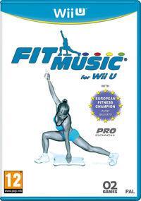 Portada oficial de Fit Music for Wii U eShop para Wii U