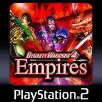 Portada oficial de Dynasty Warriors 4 Empires PS2 Classics PSN para PS3