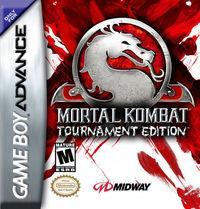 Portada oficial de Mortal Kombat: Tournament Edition para Game Boy Advance