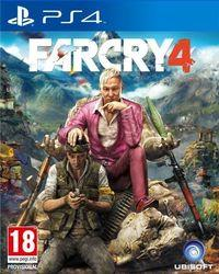 Portada oficial de Far Cry 4 para PS4