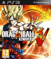 Portada oficial de Dragon Ball Xenoverse para PS3