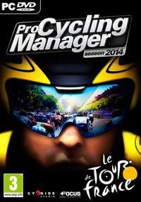 Portada oficial de Pro Cycling Manager 2014 para PC