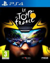 Portada oficial de Tour de France 2014 para PS4
