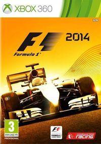 Portada oficial de F1 2014 para Xbox 360