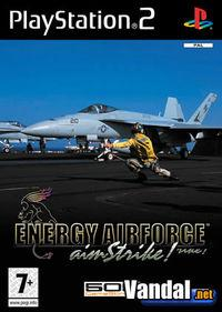 Portada oficial de Energy Airforce Aim Strike para PS2