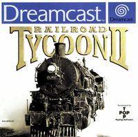 Portada oficial de Railroad Tycoon 2 para Dreamcast