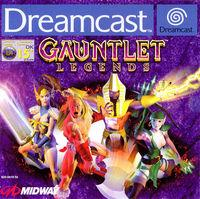 Portada oficial de Gauntlet Legends para Dreamcast