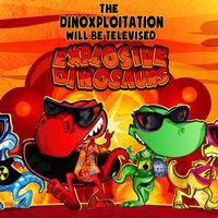 Portada oficial de Explosive Dinosaurs para PC