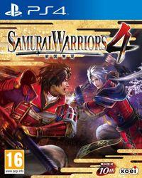 Portada oficial de Samurai Warriors 4 para PS4