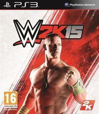 Portada oficial de WWE 2K15 para PS3