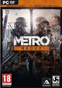 Portada oficial de Metro Redux para PC